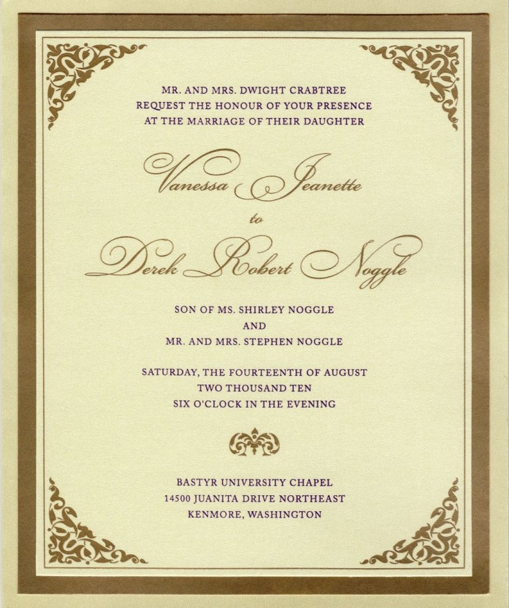 Formal Attire On Wedding Invitation: 1000+ Images About Formal Elegant Wedding Invitations On