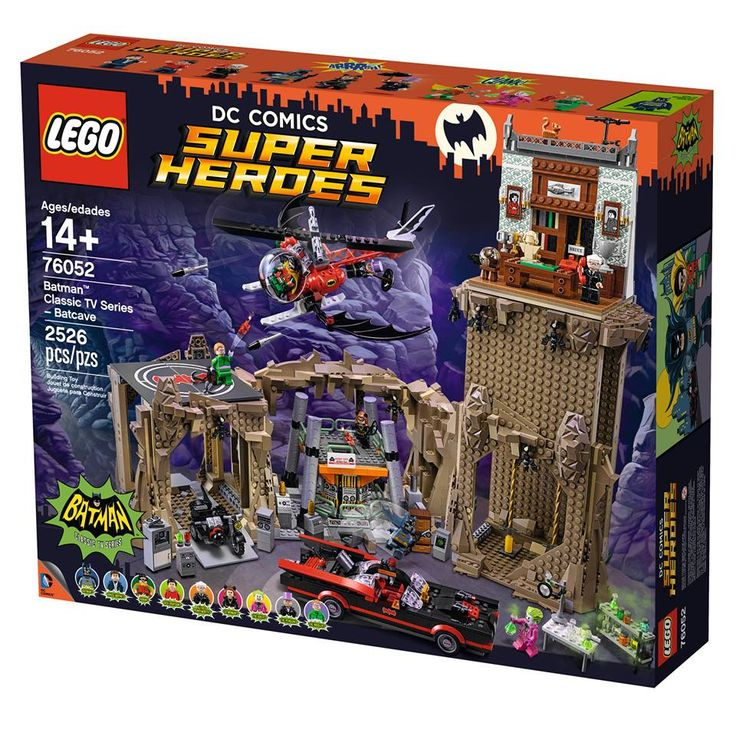 Batman 1966 Television Series Lego set