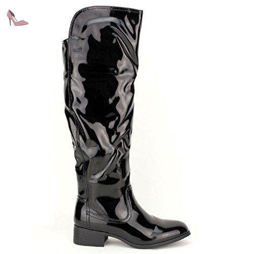 Cendriyon, Botte de pluie noire CINK Chaussures Femme Taille 40 - Chaussures cendriyon (*Partner-Link)