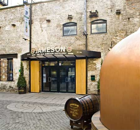 Old Jameson Distillery Dublin - 32.00 pp includes 4 course meal, live music, Irish dancers, and whiskey drink.