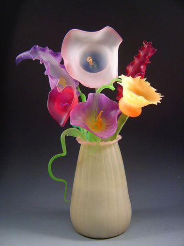 ♥ DeMoss Glass Art.... stunning.