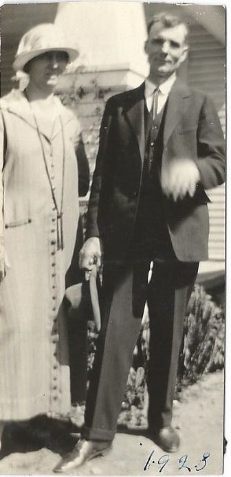Charlie and Alphy Hurd, 1928