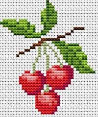 Make these cherries into a quilt