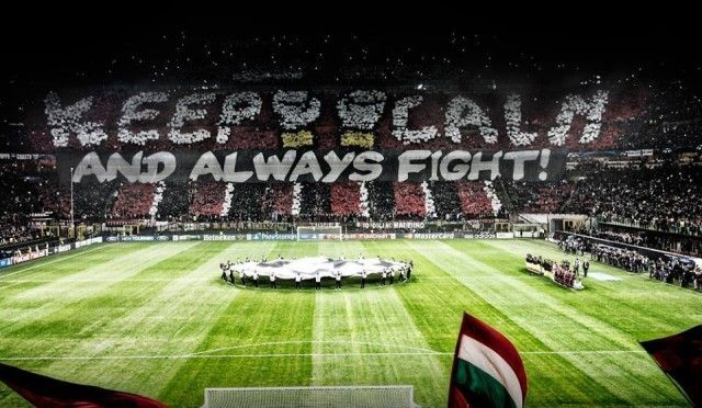 Keep calm and always fight (AC Milan)