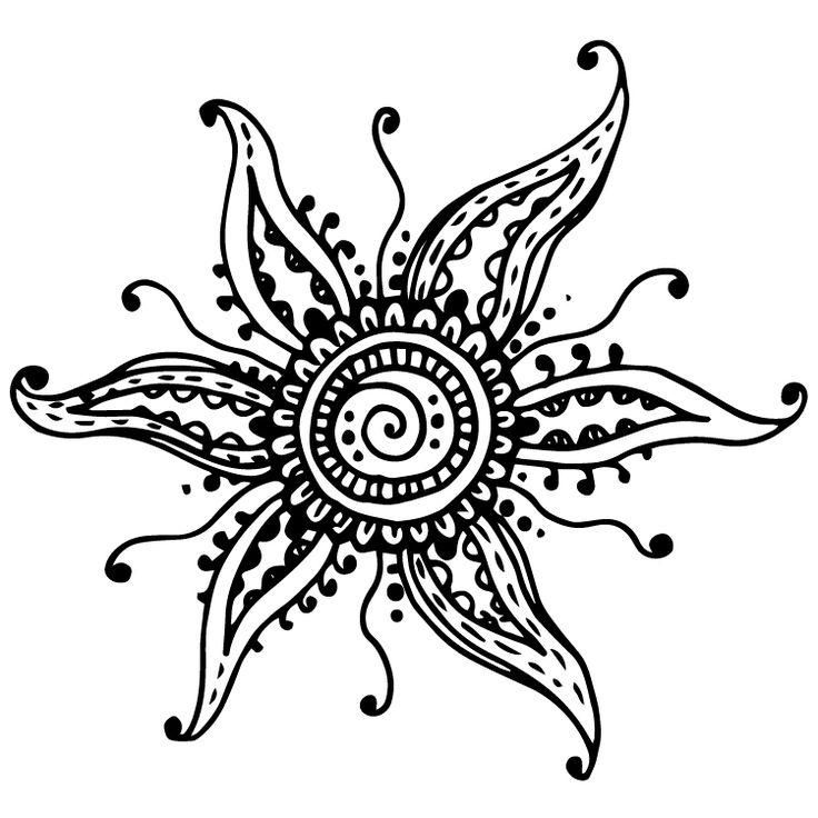 Henna Design Temporary Tattoos #633