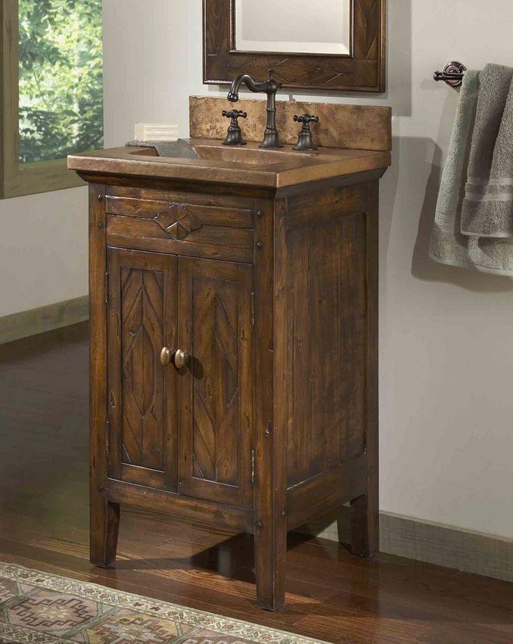 Rustic Chic Bathroom Vanity Elegant Country Bathroom Vanities Infuse Your Bathroom