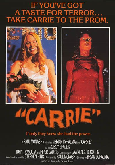 A great poster from the classic 1976 movie adaptation of Stephen King's horror novel Carrie starring Sissy Spacek! Fully licensed. Ships fast. 24x34 inches. Need Poster Mounts..? bm6193