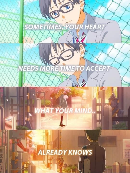 Anime:Your lie in April