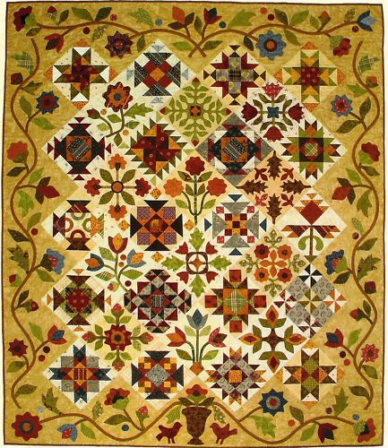 Pieces of Time A Sampler Quilt Pattern by Lori Smith | eBay