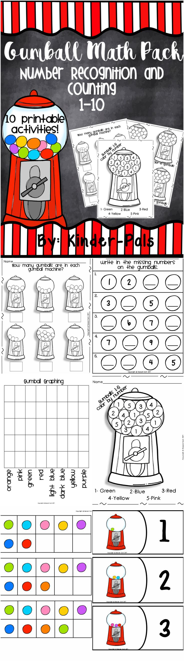 1196 best numeral recognition images on pinterest preschool math