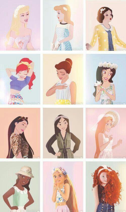 princesas modernas