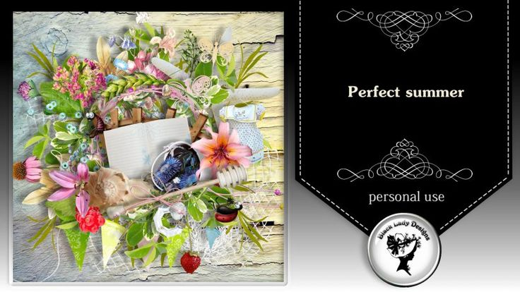 Perfect summer by Black Lady Designs
