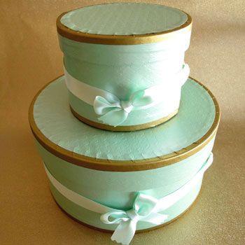 Mint Hat Boxes