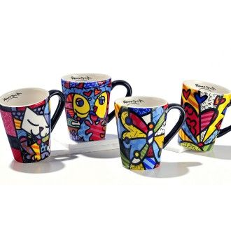 Assorted Designs Mug by Britto