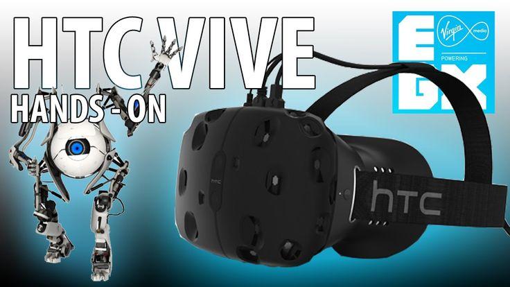 HTC Vive / Steam VR  HANDS ON! (EGX Report) #vr #virtualreality #oculus #oculusrift #gearvr #htcvivve #projektmorpheus #cardboard #video #videos