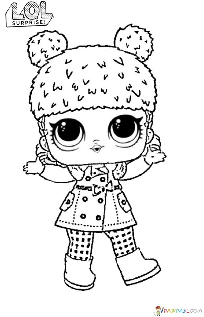 Lol Surprise Dolls Coloring Pages Print Them For Free All The Series In 2020 Lol Dolls Coloring Pages Baby Coloring Pages