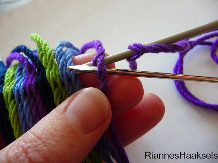 RiannesHaaksels: Ply split braiding tutorial