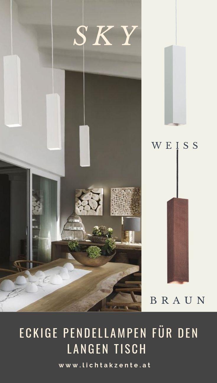Ideal Lux Eckige Led Hangeleuchte Sky Lampe Esszimmertisch