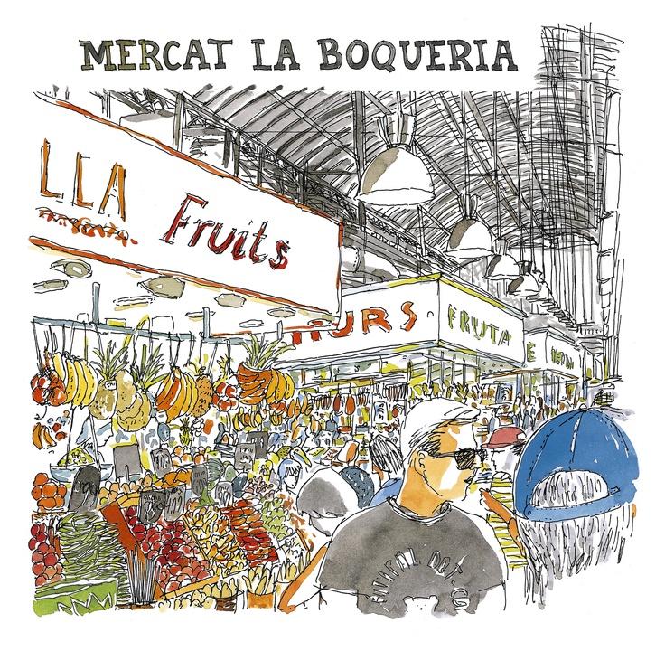 Mercat de la Boquería. Barcelona.