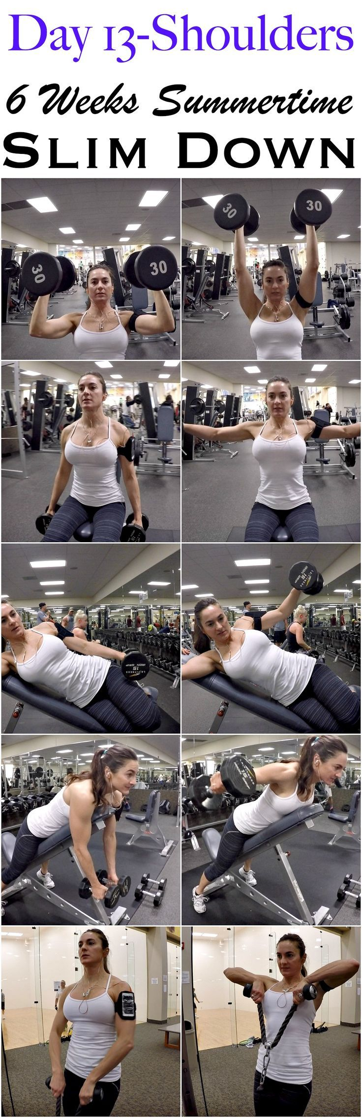 See more here ► https://www.youtube.com/watch?v=PXd1ZvFT_uU Tags: how to lose body fat not weight - 6 WEEKS SUMMERTIME SLIM DOWN: DAY 13-SHOULDERS