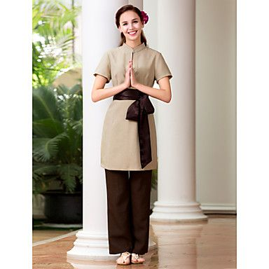 1000 images about spa uniforms on pinterest for Spa uniform china