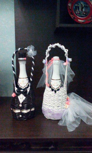 Все для свадьбы | Плетение из газет