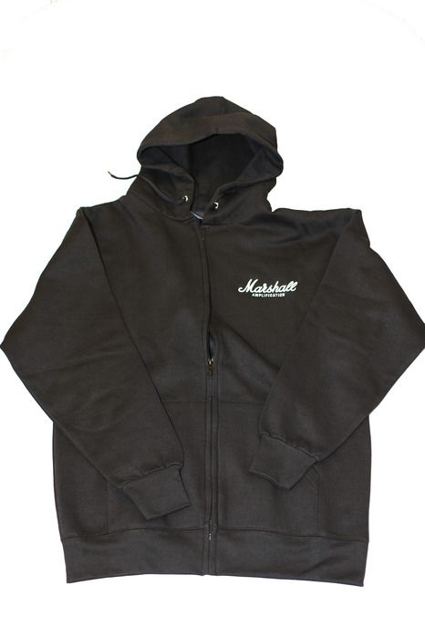 Marshall Amplification Zipped Hoodie Sweatshirt