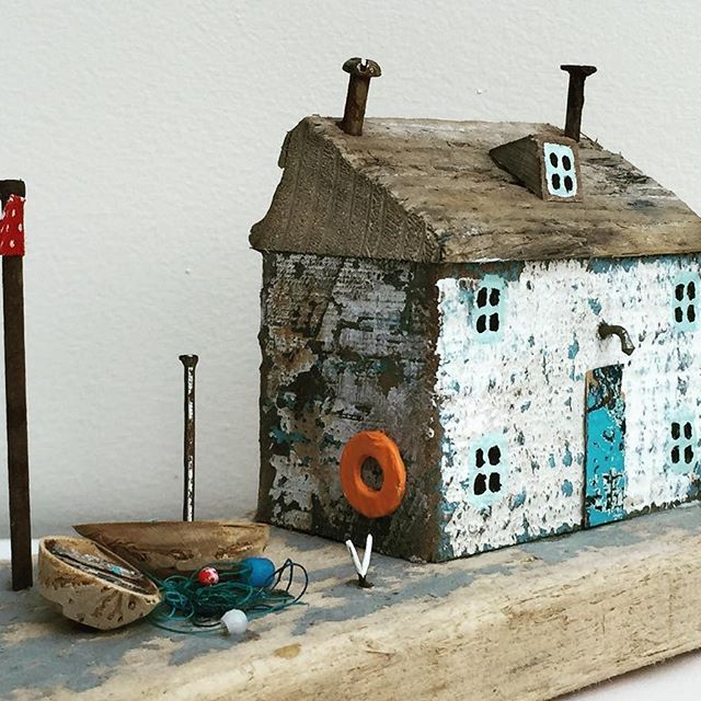 Weather beaten cottage. Somewhere in Cornwall!