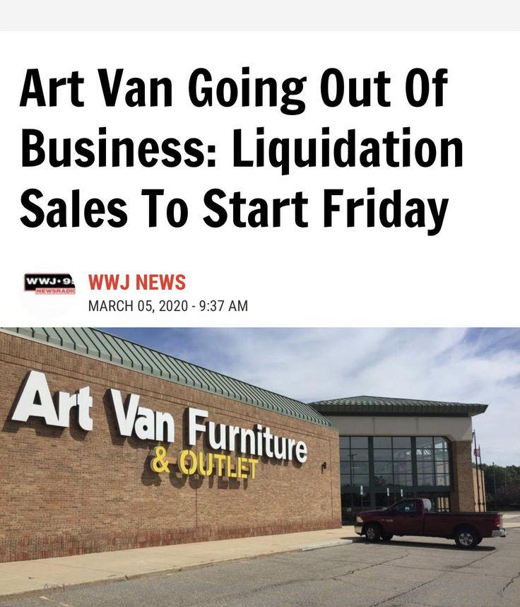 Crazy eddies motie news art van furniture going out of