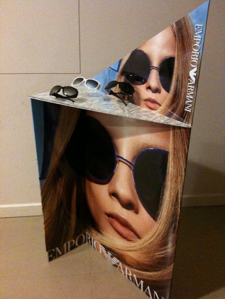 Client: Safilo for EMPORIO ARMANI  Product: Window Display for Opticians