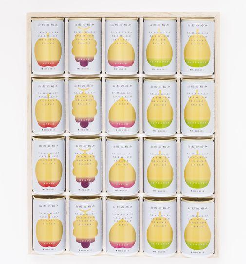 フルーツ王国山形でとれた、新鮮かつ上質な果物のおいしさを凝縮した、ストレート果汁100%ジュースです。理想のデザートを追求して生まれただけあって、缶ジュースという手軽さなのに、どれも濃厚でヘルシーな味...