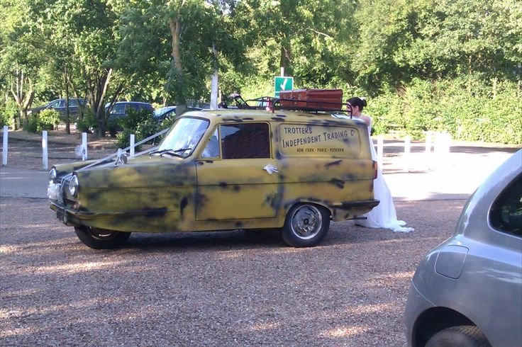 One of the most original ideas we have seen.  Turning up like Del boy and Rodney!