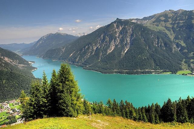 Zwoelferkopf (1480m) & Achensee Lake, (near Innsbruck), Pertisau, Austria. 4,5 hours drive from Vienna