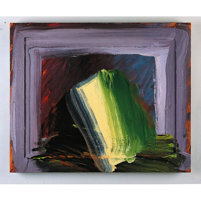 Howard Hodgkin - Like an Open Book.       I saw his exhibition of colour.