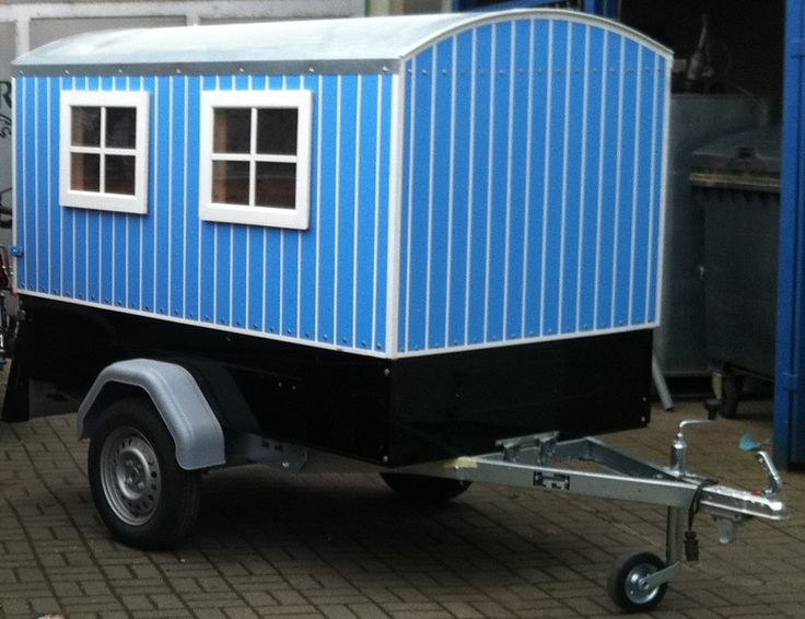 deek came across this tiny camper build - Tiny Camping Trailers