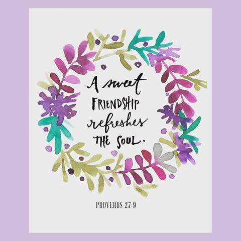 • Proverbs 27:9 • #friendship #proverbs #womenofthebible #oasisministriesinternational #love #faith #proverbswoman #proverbs #jesuschrist #oasis #ministry #followjesus #readthebible #scripture #godsword #fellowship #titus2