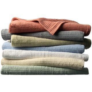 Shop for All-season Cotton Thermal Blanket. Free Shipping on orders over $45 at Overstock.com - Your Online Blankets