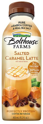 Bolthouse Farms Salted Caramel Latte~ Great drink! Anyone know of a drink recipe I can use this in?