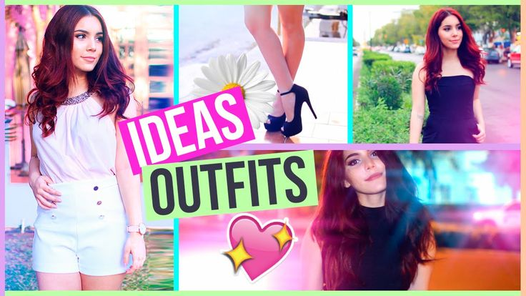 IDEAS DE OUTFITS PARA PRIMAVERA O VERANO (Lookbook) ♥ Jimena Aguilar