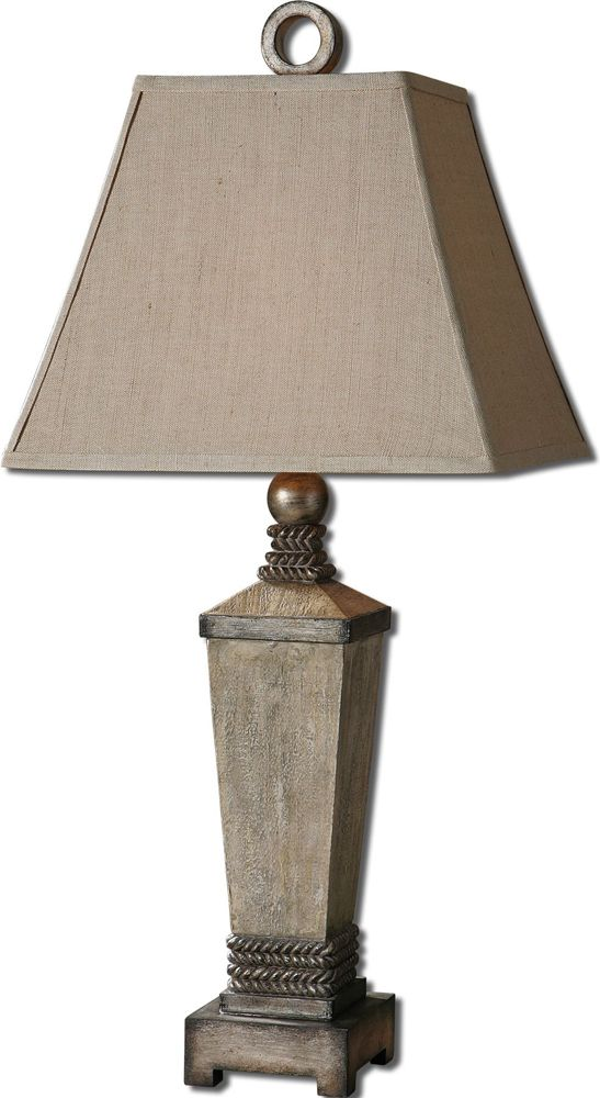 Gilman aged ivory lamp by designer carolyn kinder from uttermost · uttermost lightingtraditional table