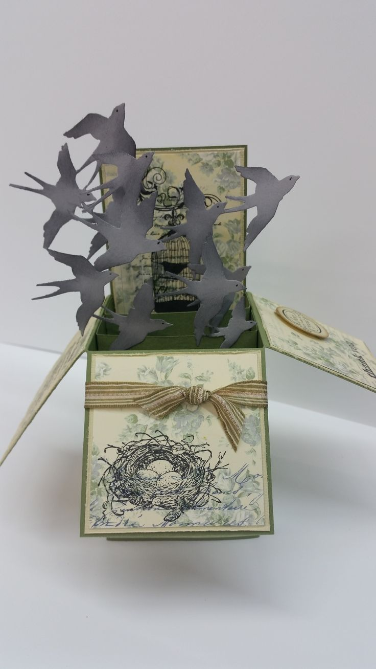 Bird Box by Susan of Art Attic Studio