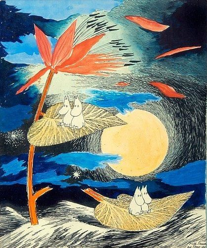 Tove Jansson, TRAVELLING MOOMINS
