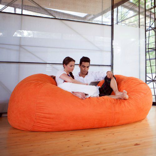 That's not a beanbag chair, that's a freaking beanbag couch! I wonder how many of your friends you could fit on it at once…$29.86
