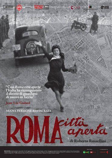 Da oggi torna in 70 sale italiane Roma Città Aperta restaurato dalla Cineteca di Bologna La programmazione a Bologna e in Italia > http://bit.ly/1izLacs