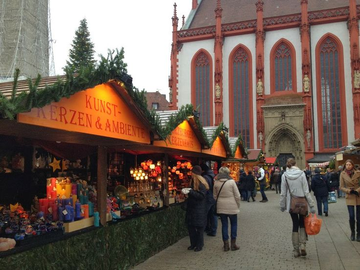Weihnachtsmarkt (Christmas Market) Würzburg, Germany