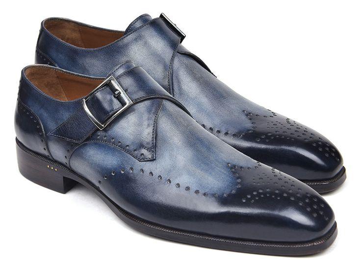 Monk Strap Shoes Single Wingtip PRO Quality
