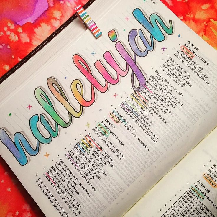 Psalm 146 through 150 all begin and end with Hallelujah!                                                                                                                                                                                 More