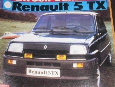 Renault 5 TX Año 1982