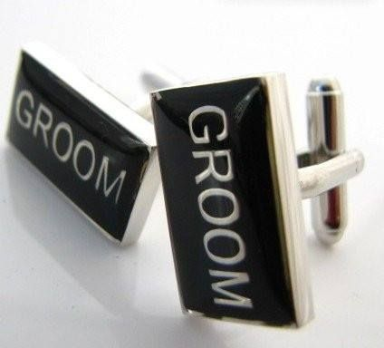 Wedding Series Groom Cufflinks