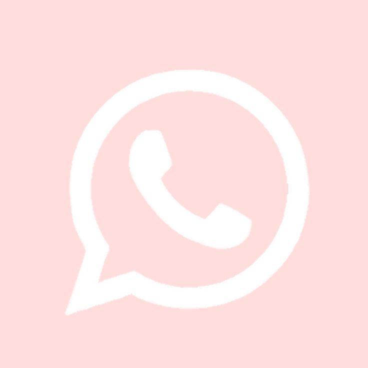 Whatsapp Pink Ios Icon Em 2021 Icone De App Icones Personalizados Icones In 2021 Ios App Icon Design App Icon Design Ios Icon